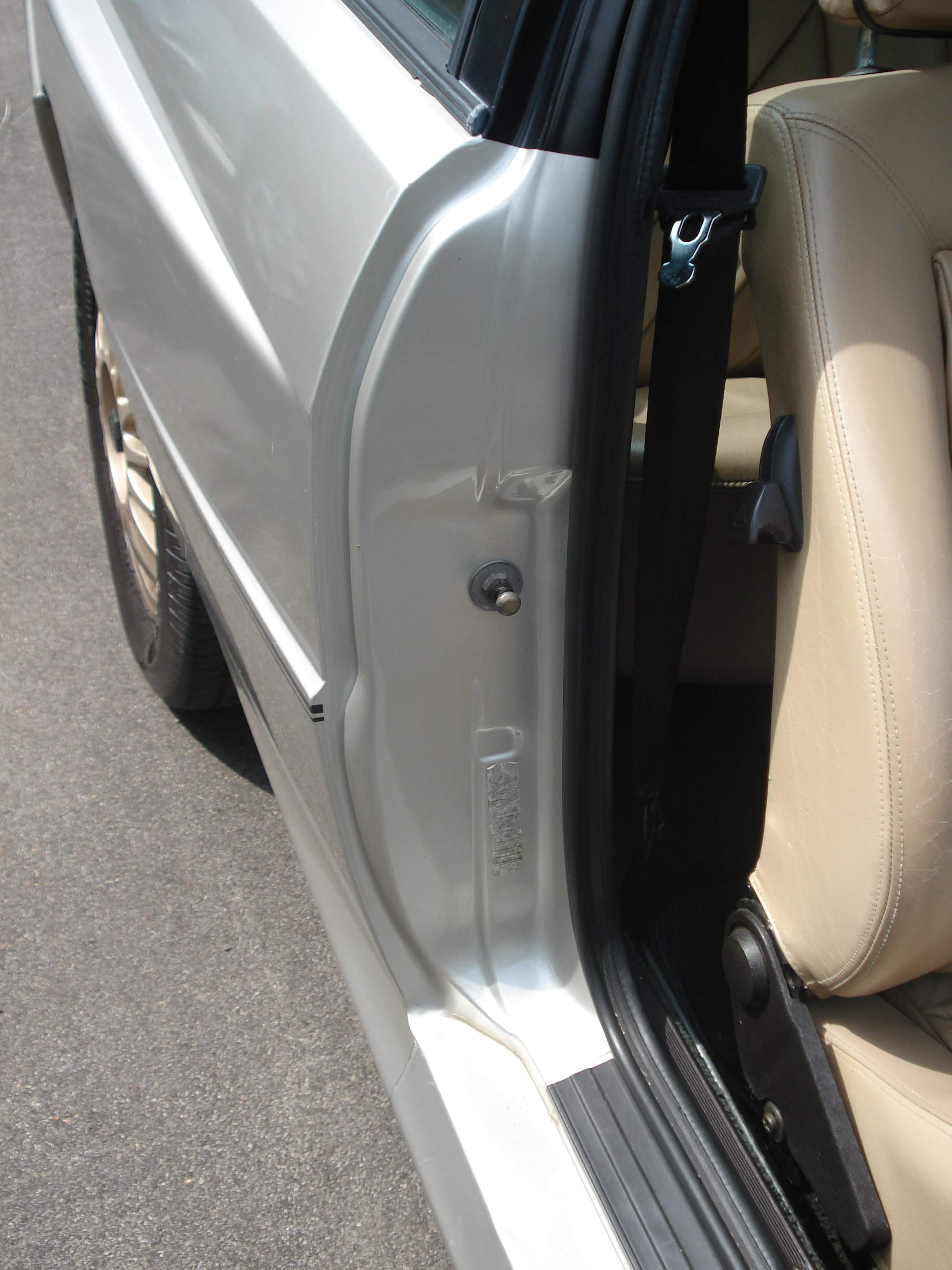 car door jamb. Contemporary Car 1984  In Car Door Jamb I